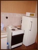 Плита и холодильник