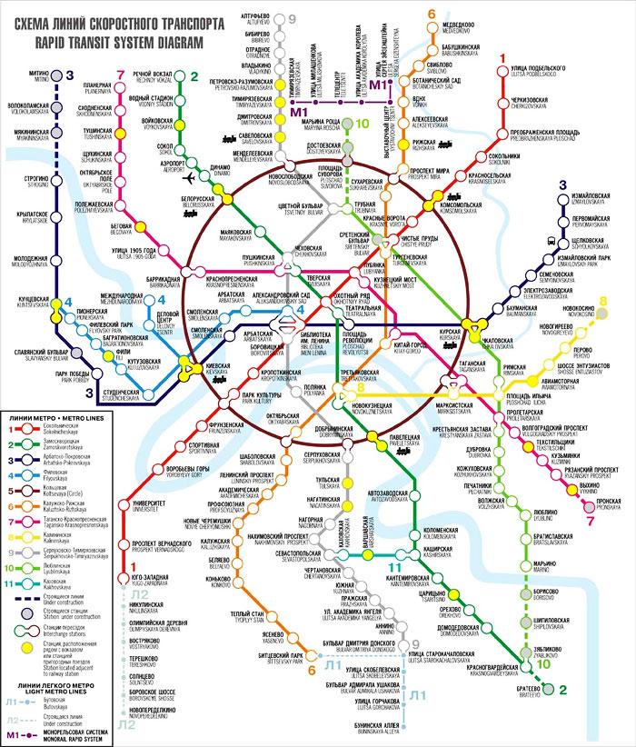 Новая карта Московского